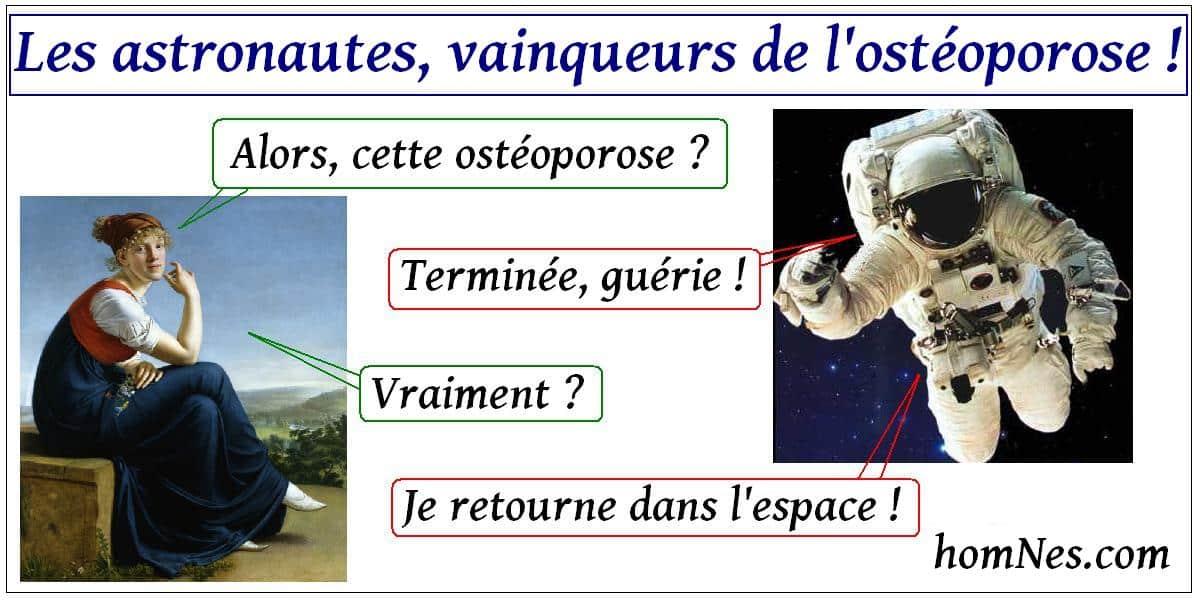 Les astronautes, vainqueurs de l'ostéoporose !