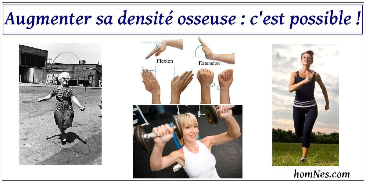 Ostéoporose - augmenter sa densité osseuse