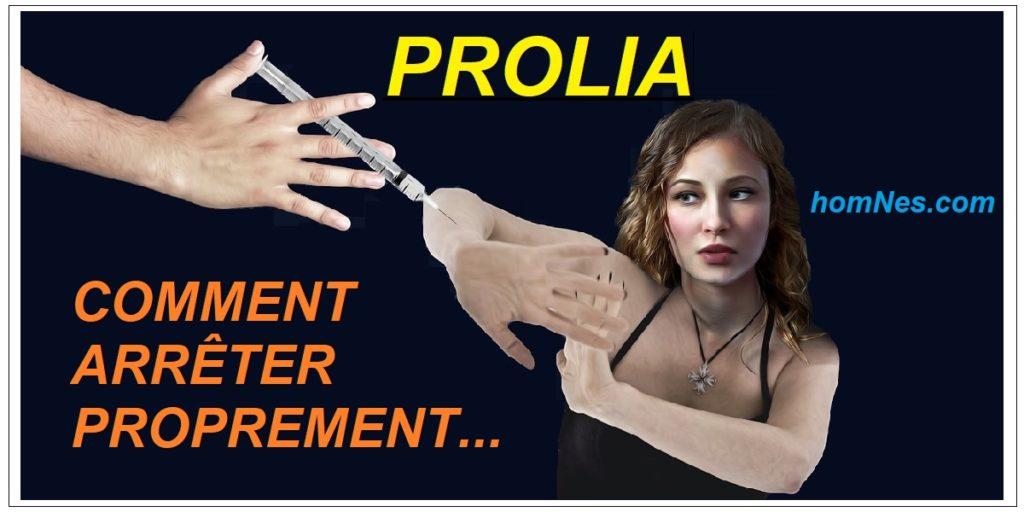 Arrêter proprement le Prolia (denosumab) - Ostéoporose