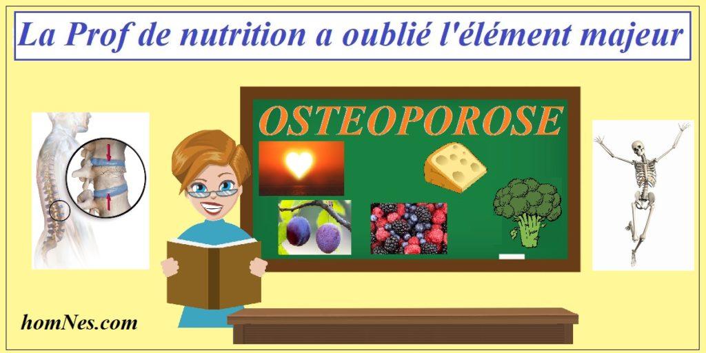 Nutrition Exercice Ostéoporose