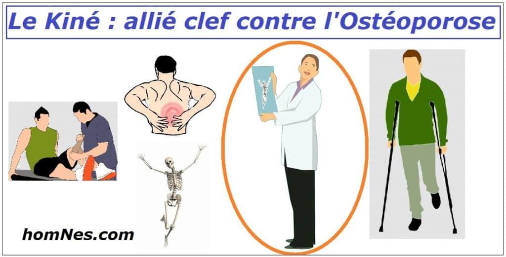 Le kinésithérapeute contre l' ostéoporose